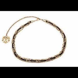 Authentic Moschino gold tone chain belt. Size 42""